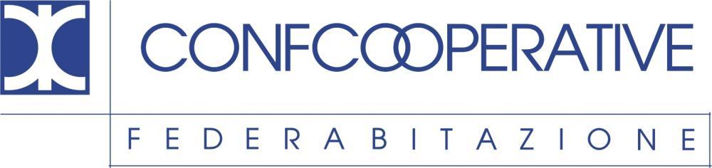 Federazione Nazionale delle Cooperative Edilizie di Abitazione (FEDERABITAZIONE) (National Federation of Cooperative Housing Building) - Logo