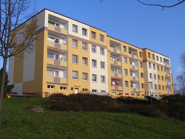 Housing Co-operative Druzba, in Usti nad Labem (after renovation)