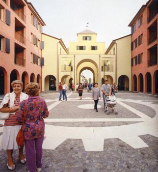 ANDRIA Cooperativa di Abitanti, Borgonuovo neighbourhood, Novellara, Reggio Emilia