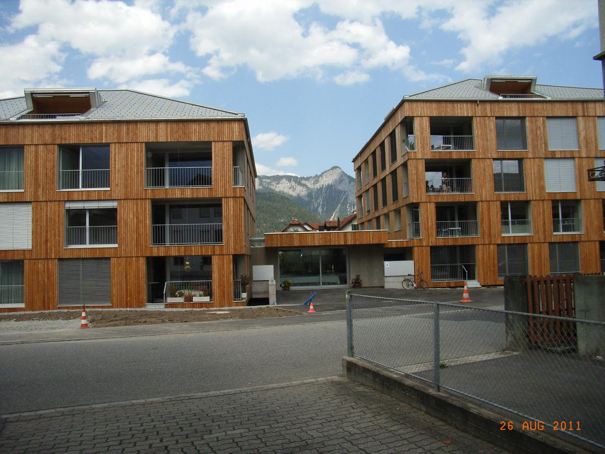 In buona compagnia: housing community of elderly people in the canton of Graubunden